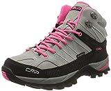 CMP – F.lli Campagnolo Damen Rigel Mid Wmn Shoe Wp Trekking- & Wanderstiefel, Grau (Glacier-Gloss 24TE), 42 EU