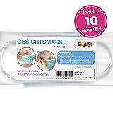10er Set Mundmaske Einwegmaske Gesichtsmaske 3-lagig Maske für Kinder Gesicht und Nase Kindermaske 28131
