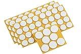 Metafranc Filz-Gleiter-Sortiment 104-teilig - selbstklebend - weiß - Effektiver Schutz Ihrer Möbel & Stühle / Möbelgleiter-Set für empfindliche Böden / Stuhlgleiter / Bodengleiter / 645296