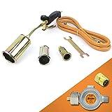 Gasbrenner Dachbrenner Gaslötgerät Abflammgerät Brenner Gasdruckregler SN0286R2