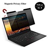 KONEE Magnetic Privacy Filter | Laptop Blickschutzfilter | Notebook Privacy Screen Filter fur 15.6 Zoll Laptop, Magnetischer Sichtschutz – 15.6 Zoll 16:9