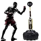 WXH Freistehende Boxsack Boxing Speed Boxsack, mit höhenverstellbarem Ständer, hochwertigem PVC-Material, über 90 ° biegbar, für Erwachsene und Kinder