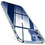 TORRAS für iPhone 12 Mini Hülle Transparent, (Vergilbungsfrei und Dünn) Militärschutz Handyhülle iPhone 12 Mini Case, Flexibles Silikon Kratzfest Schutzhülle iPhone 12 Mini, Crystal Series