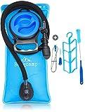 Bergcamp Trinkblase + Reinigungsset - wasserdichte Blase für den Rucksack zum Wandern, Campen oder Radfahren, geschmacklos