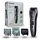 Panasonic ER-GB80-H503 Bart-/ Haarschneider mit 39 Schnittstufen, Bartschneider für Herren, inkl. Präzisions-Trimmer, Pflege für Körper, dunkelsilber