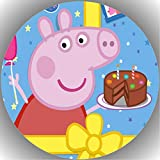 Fondant Tortenaufleger Tortenbild Geburtstag Peppa Pig T36
