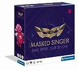 Clementoni 59203 The Masked Singer, Pro7-Show, Familienspiel für 3-10 Spieler, unterhaltsames Partyspiel, Kartenspiel zur TV-Sendung, ab 12 Jahren