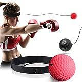 GothicBride Boxing Reflex Ball Set– Punchingball und Reaktionsball für Ihr Boxtraining – hochwertiger Boxball mit Stirnband zum Boxen Inkl. Trainingsanleitung