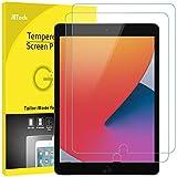 JETech Schutzfolie für iPad 8 / 7 (10,2 Zoll, Modell 2020 / 2019) iPad Air 3 (10,5 Zoll, 2019) and iPad Pro 10,5 (2017), Panzerglas Displayschutzfolie, 2 Stück