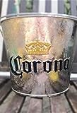 Corona Eiskübel verzinkt mit Flaschenöffner