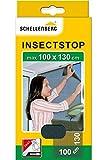 Schellenberg 50713 Fliegengitter für Fenster Insektenschutz und Mückenschutz inkl. Klebestreifen, ohne Bohren, 100 x 130 cm
