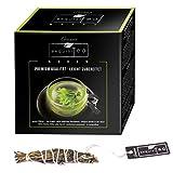 Creano 12x exquisitea – Grüner Tee – ganze Teeblätter so einfach wie ein Teebeutel zubereitet - WELTNEUHEIT
