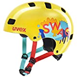 Uvex Unisex Jugend, kid 3 Fahrradhelm, yellow, 51-55 cm