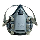 3M Halbmaskenkörper, aus Silikon mit strukturierter Gesichtsabdichtung, Größe L, 1 Stück, 7503, EN-Sicherheit zertifiziert