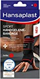 Hansaplast Sport Handgelenk-Bandage, Handgelenkstütze schont und unterstützt das Gelenk, Handgelenkschoner passend für das rechte und linke Handgelenk, Größe L/XL