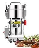 CGOLDENWALL1500W Elektrische Getreidemühle 300g Edelstahl Trockene Gewürzmühle Maschine für Verschiedene Müsli Körner Sojabohnen Gewürze Kräuter28000 U/min