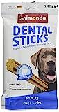 animonda Dental Sticks Kaustangen, Zahnpflegesnacks zur Unterstützung der Mundhygiene ausgewachsener Hunde,Maxi,3 Stück, 165 g