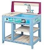 John 41121_FSC Frozen Eiskönigin Disney Matschküche Spielküche, Mehrfarbig