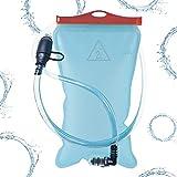 Atacama Trinkblase 2L mit Beissventil, Version 2018, hochwertigem, BPA-frei, geschmacksneutral und auslaufsicher, für jeden Trinkrucksack