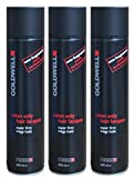 3 x Goldwell Salon Only Hair Lacquer 600 ml.