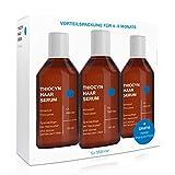 3x Thiocyn Haarserum für Männer bei Haarausfall • Vorteilspaket • Wissenschaftlich fundierte Spezialpflege ohne bekannte Nebenwirkungen • MADE IN GERMANY • altersunabhängig wirksam • 3x150 ml