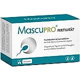 MascuPRO Fertilität Mann - Fruchtbarkeit - Spermienproduktion + 60 Kapseln + L-Carnitin Carnipure, L- Arginin, Zink + Vitamine Mann Kinderwunsch