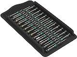 Wera 05134000001 Kraftform Micro Big Pack 1 Schraubendrehersatz, 25-teilig