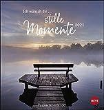 Ich wünsch' dir … stille Momente Postkartenkalender 2021 - Kalender mit perforierten Postkarten - zum Aufstellen und Aufhängen - mit Monatskalendarium - Format 16 x 17 cm