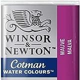 Winsor & Newton 0301398 Cotman Aqarellfarbe - 1/2 Napf, gute Transparenz, hervorragender Tönungsstärke und gute Maleigenschaften, Malve