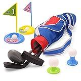 EP EXERCISE N PLAY Unisex Deluxe glücklich / Kleinkind-golfschläger Set growtopro Golfer 15 stück Set blau… (Blau-2)