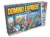 Goliath 81009 - Domino Express Ultra Power, Domino-Set für Ihnen eigenen Domino Day, Aufregende Stunts mit Dominosteinen, Aufbaufahrzeug und viel Zubehör, ab 6 Jahren