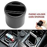 Romdink Auto Cup Adapter, Multifunktions-Fahrzeug Getränkehalter Box Auto Aufbewahrungsbox Wasser Cup Slot Aufbewahrungsbox
