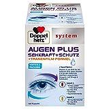 Doppelherz system AUGEN PLUS SEHKRAFT + SCHUTZ – Mit Vitamin A und der Omega-3 Fettsäure DHA als Beitrag für den Erhalt der normalen Sehkraft – 120 Kapseln