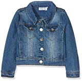 NAME IT Mädchen NITSTAR RIKA DNM Jacket NMT NOOS Jacke, Blau (Medium Blue Denim), 146