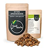 justaste 1 kg bittere Aprikosenkerne   naturbelassen   B17   aus kontrolliertem Anbau Original   Qualität   bitter   Kerne Samen