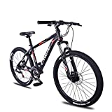 DJYD 21-Gang Mountain Bikes, 26-Zoll-Aluminium-Rahmen Hardtail Mountainbike, Kinder Erwachsene All Terrain Mountainbike, Anti-Rutsch-Fahrrad, Grün FDWFN (Color : Red)