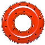 Jilong Watermelon Ring - XXL Schwimmring Poolsessel Wassermelone aufblasbar ø110x30cm Schwimmsessel