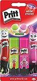 Pritt PS2SE Pritt Stick 2 Neon-Klebestifte, Rosa/Grün,2x 20 g