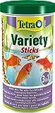 Tetra Pond Variety Sticks – Fischfutter Mischung bestehend aus drei verschiedenen Sticks, für die Gesundheit, Farbenpracht und Vitalität aller Teichfische, versch. Größen