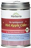 Herbaria 'Hot Apple Cider' Gewürzmischung für Apfelsaft, 1er Pack (1 x 100 g Dose) - Bio
