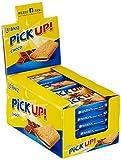 Leibniz PiCK UP! Choco Single im 24er Pack — Butterkekse mit Schokolade in der Großpackung — Schoko-Kekse einzeln verpackt — Schokoladenkekse Box (24 x 28 g)