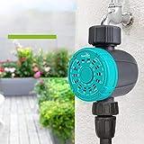 CRZJ Digitaler Wassertimer Tropfschlauch-Timer Programmierbarer Einzelausgang Automatischer Bewässerungsregler mit einem Schlüssel