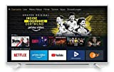 Grundig Vision 6 - Fire TV Edition (43 GFW6060) 109 cm (43 Zoll) Fernseher (Full HD, Alexa-Sprachsteuerung, Magic Fidelity) weiß [Modelljahr 2019]