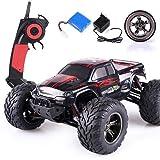 s-idee® 18294 9115 RC Auto Buggy wasserdichter Monstertruck 1:12 mit 2,4 GHz über 40 km/h schnell, wendig, voll proportional 2WD ferngesteuertes Buggy Racing Auto
