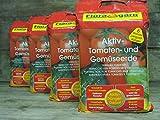 Floragard Aktiv Tomaten & Gemüseerde mit Guano und Langzeitdünger, 80L (4x20L)