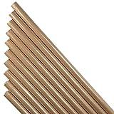 30 Meter Packpapier Kraftpapier Natur Papier 10 x Rolle a 3,00m x 0,70m Packpapierrolle, Schrenzpapier