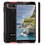 Outdoor Smartphone 4G LTE CUBOT Quest 2019 (Ultra Dünn) Octa-core 4GB+64GB,NFC OTA IP68 Android 9.0 Dual Nano SIM 4000mAh,Kamera 12MP+8MP 5.5'HD Display (720x1440) Wasserdicht Staubdicht Stoßfest -Rot
