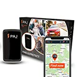 PAJ GPS Allround Finder Version 2020 GPS Tracker etwa 20 Tage Akkulaufzeit (bis zu 60 Tage im Standby Modus) Live-Ortung Peilsender für Auto, Personen