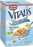 Dr. Oetker Vitalis Weniger Süß Knusper Pur mit 30% weniger Zucker, 2er Packung (2 x 1,5kg)