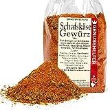 Schafskäse Gewürz 100 Gramm gerebelt - Gewürzmischung für Feta, ohne Zusatzstoffe & ohne Geschmacksverstärker - Bremer Gewürzhandel